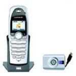 Combiné téléphonique sans-fil pour Skype par Linksys