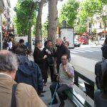 Premier banc Wi-Fi à Paris