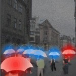 UMBRELLA.net : les parapluies communiquent sans fil