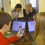 Un campus universitaire connecté aux Etats-Unis
