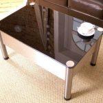 Une table basse rétro Wi-Fi pour le salon