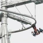 L'attraction Vertigo à Walibi Belgique tombe en panne