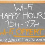 Wi-Fi Happy Hours chez Orange